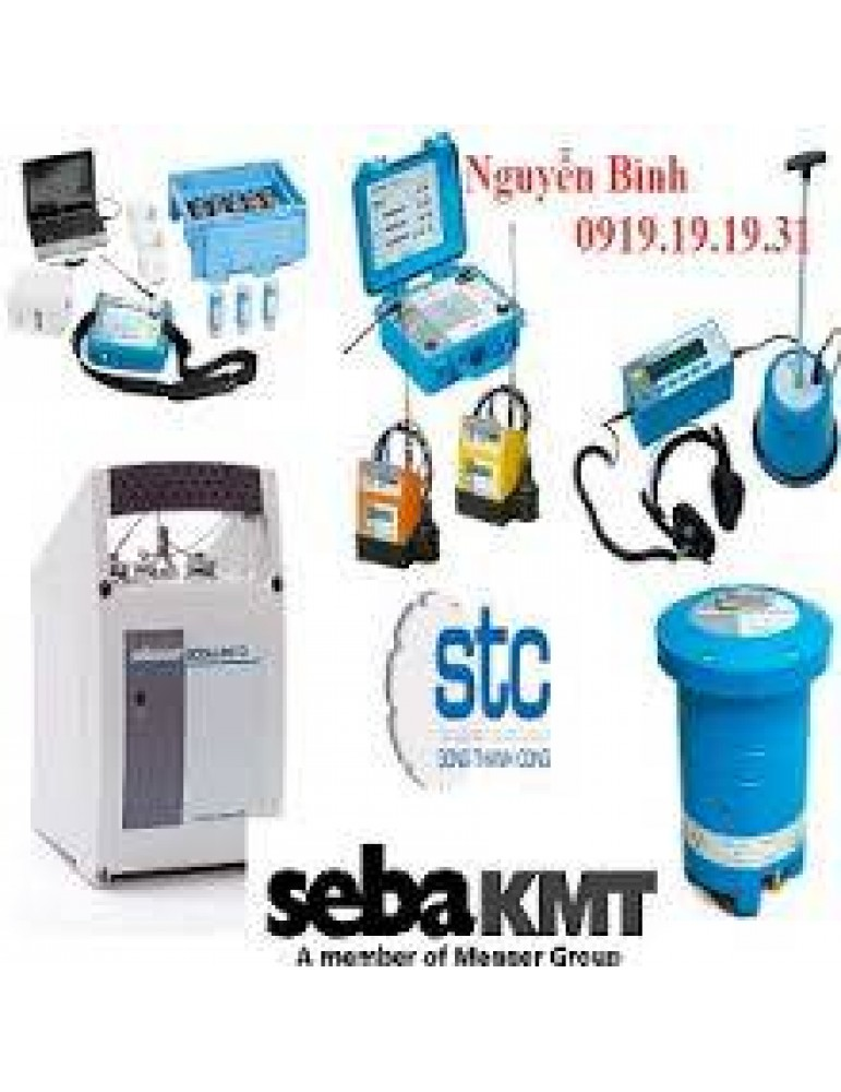 SEBALOG D-3 DATALOGGER (FLOW AND PRESSURE RECORDER)